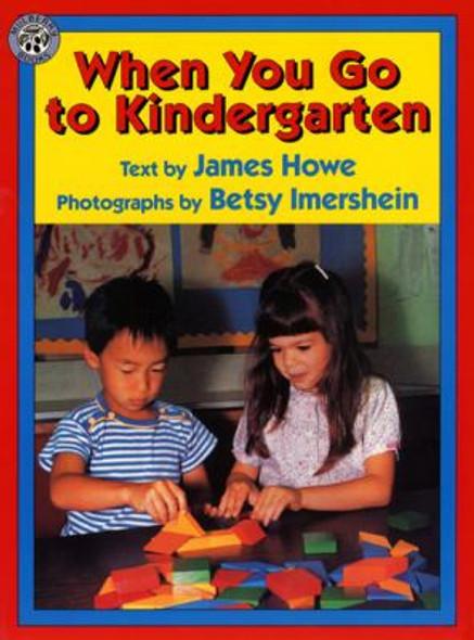 When You Go to Kindergarten Cover