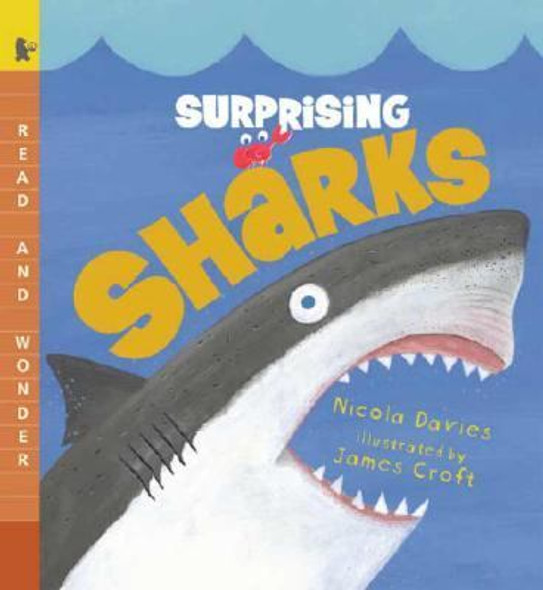 Surprising Sharks: Read and Wonder Cover