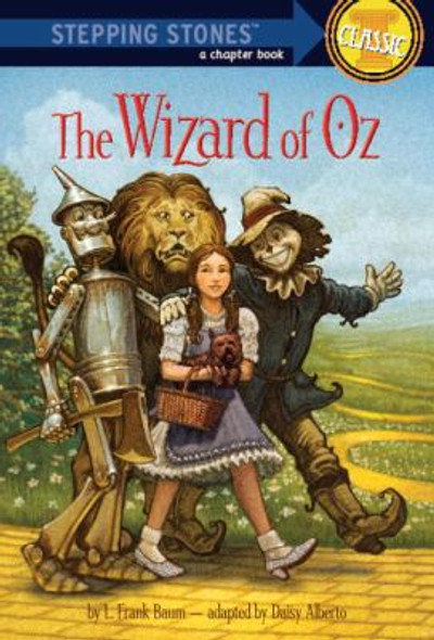 The Wizard of Oz (A Stepping Stone Book(TM)) Cover