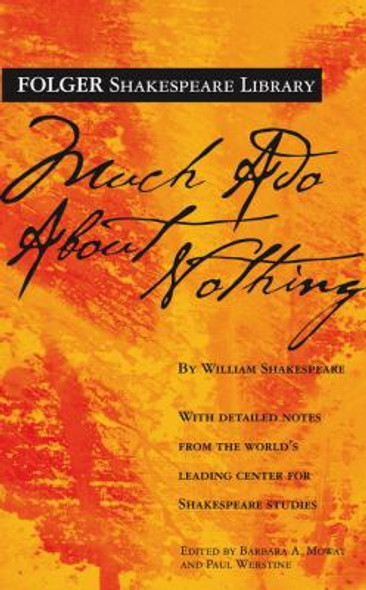 Much Ado about Nothing ( Folger Shakespeare Library ) Cover