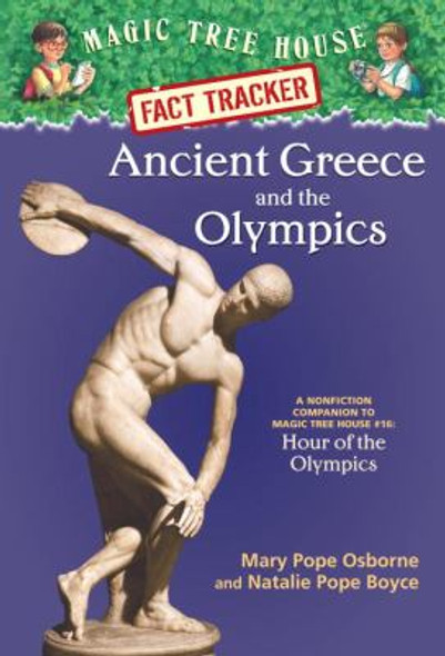 Ancient Greece and the Olympics: A Nonfiction Companion to Magic Tree House #16: Hour of the Olympics Cover
