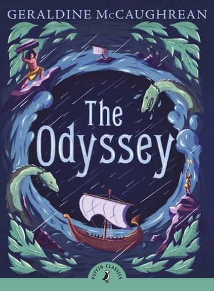 The Odyssey (Abridged) Cover