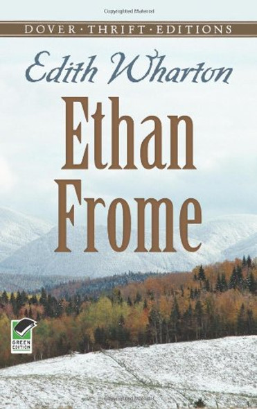 Ethan Frome ( Dover Thrift Editions ) Cover