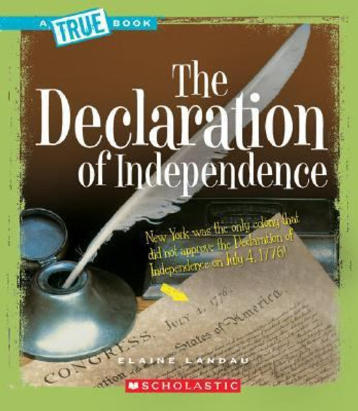 The Declaration of Independence Cover