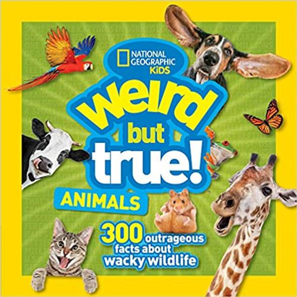 Weird But True Animals Cover