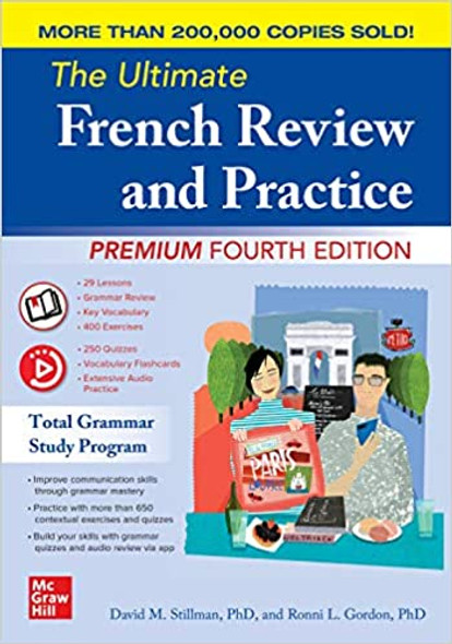 The Ultimate French Review and Practice, Premium Fourth Edition Cover