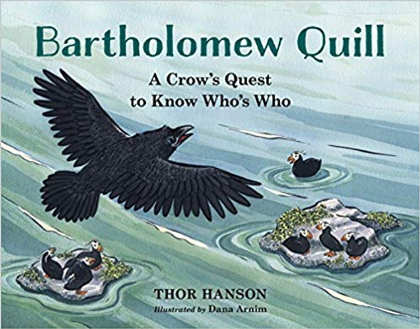 Bartholomew Quill: A Crow's Quest to Know Who's Who Cover