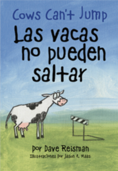 Cows Can't Jump (Bilingual Stubby & Stout Board Book) Cover