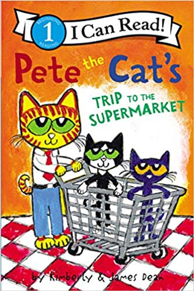 Pete the Cat's Trip to the Supermarket (I Can Read Level 1) Cover