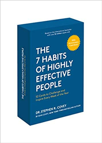The 7 Habits of Highly Effective People: 30th Anniversary Card Deck Cover