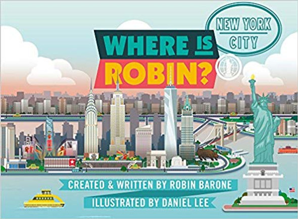 Where is Robin? New York City Cover