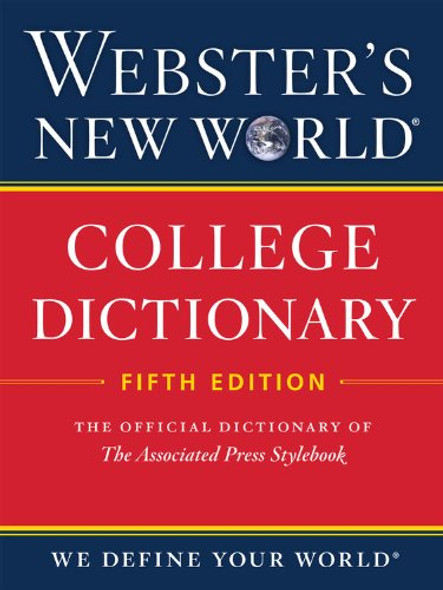 Webster's New World College Dictionary, Fifth Edition Cover