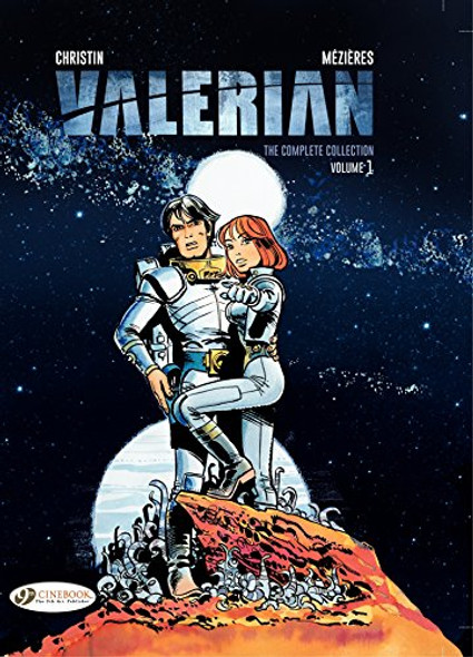Valerian: The Complete Collection , Volume 1 (Valerian & Laureline) Cover