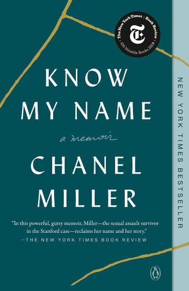 Know My Name: A Memoir Cover