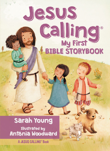 Jesus Calling My First Bible Storybook Cover