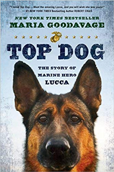 Top Dog: The Story of Marine Hero Lucca Cover