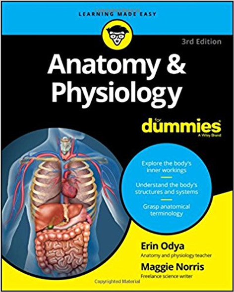 Anatomy and Physiology for Dummies (3RD ed.) Cover