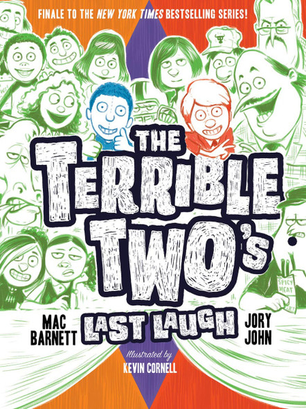 The Terrible Two's Last Laugh Cover
