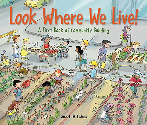 Look Where We Live!: A First Book of Community Building Cover