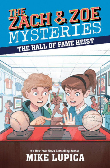 The Hall of Fame Heist (The Zach and Zoe Mysteries) Cover
