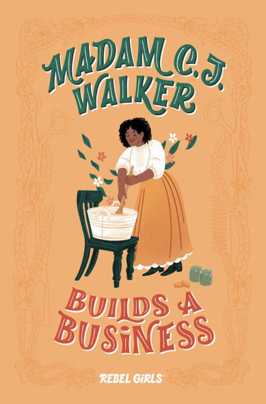 Madam C.J. Walker Builds a Business (A Good Night Stories for Rebel Girls Chapter Book) Cover
