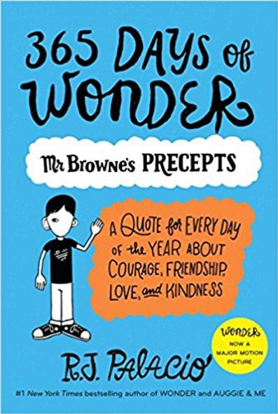 365 Days of Wonder: Mr. Browne's Precepts Cover
