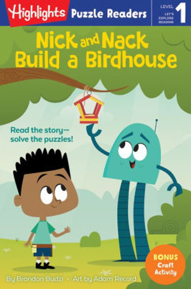 Nick and Nack Build a Birdhouse (Highlights Puzzle Readers) Cover