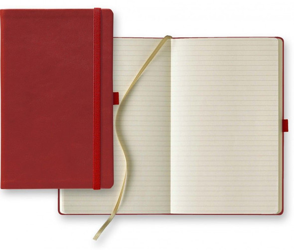 Medium Calf Leather Ivory Journal
