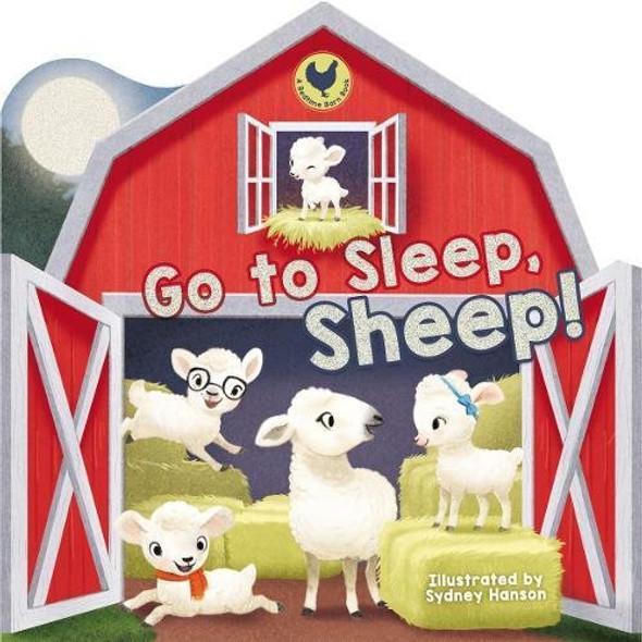 Go to Sleep, Sheep! (Bedtime Barn) Cover
