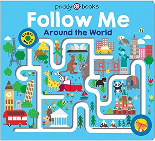 Maze Book: Follow Me Around the World Cover