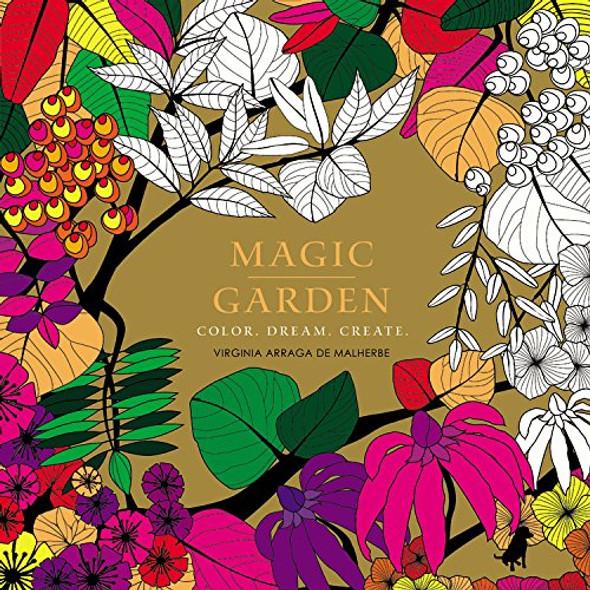 Magic Garden: Color. Dream. Create. Cover