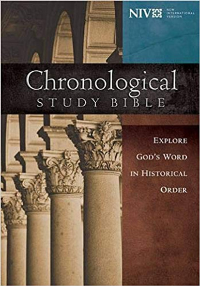Chronological Study Bible-NIV Cover