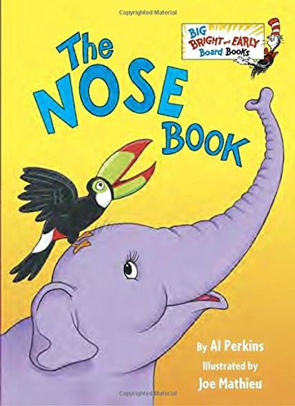 The Nose Book (Big Bright & Early Board Book) Cover