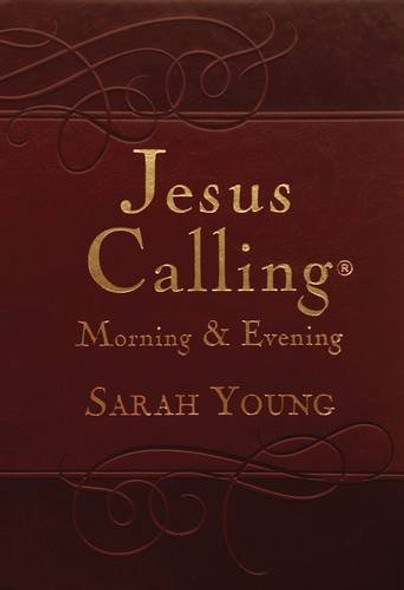 Jesus Calling Morning and Evening Devotional Cover