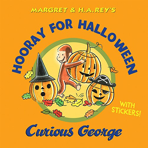 Hooray for Halloween, Curious George Cover