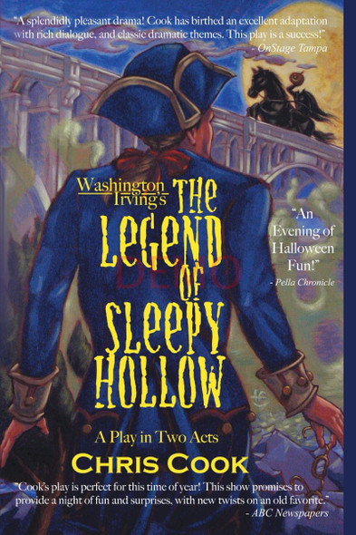 Washington Irving's the Legend of Sleepy Hollow: A Play in Two Acts Cover