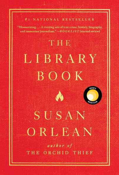 The Library Book Cover