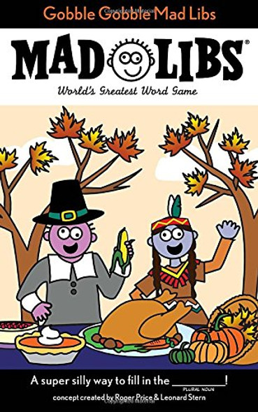Gobble Gobble Mad Libs Cover