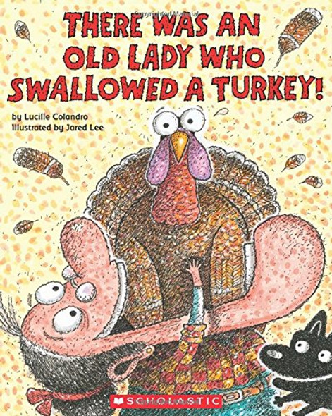 There Was an Old Lady Who Swallowed a Turkey! Cover