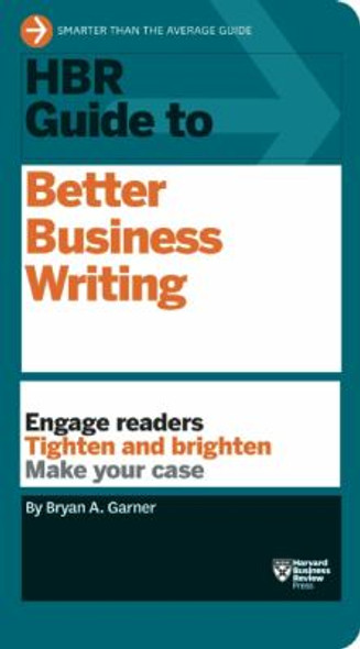 HBR Guide to Better Business Writing Cover