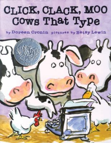 Click, Clack, Moo: Cows That Type Cover
