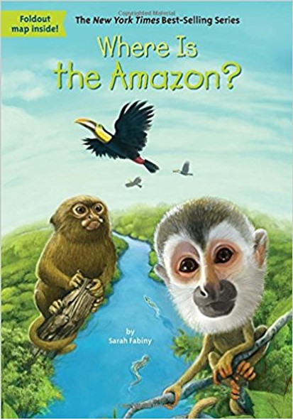 Where Is the Amazon? ( Where Is...? ) Cover