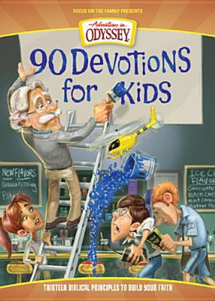 90 Devotions for Kids Cover