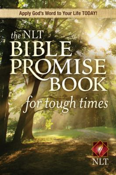 The NLT Bible Promise Book for Tough Times Cover
