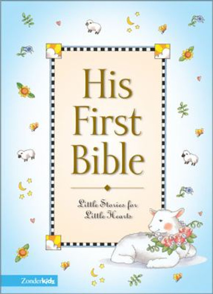 His First Bible Cover