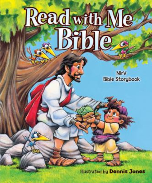 Read with Me Bible: An NIrV Story Bible for Children Cover