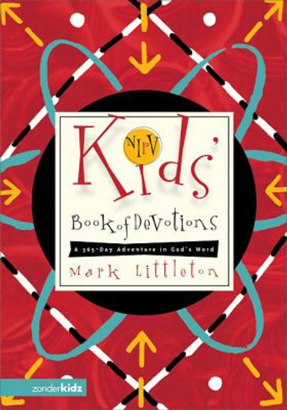 NIRV Kid's Book of Devotions: A 365-Day Adventure in God's Word Cover