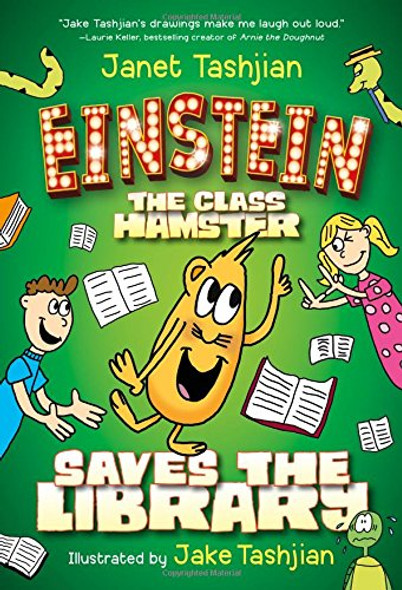 Einstein the Class Hamster Saves the Library (Einstein the Class Hamster Series) Cover