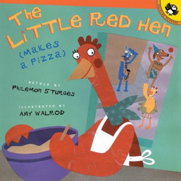 The Little Red Hen Makes a Pizza Cover