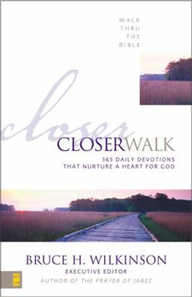 Closer Walk: 365 Daily Devotions That Nurture a Heart for God Cover